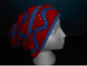 Red And Blues Hat