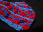 Red And Blues Scarf