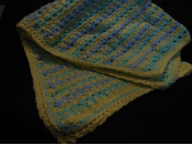 Soft looking baby blanket