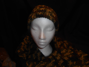 Caty's Camo Hat And Scarf Set