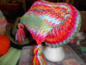 Two Tassel Loom Hat