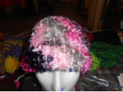 Colorful Fuzzy Hat