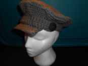 Grey Cap Hat