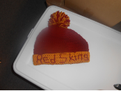 Red Skins Team Hat