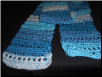 Lacy Blues Scarf