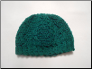 Green Cable Hat