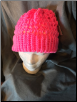 Pink Loomed Hat
