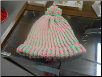 Green and Pink Loom Hat