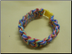 Rainbow colors Paracord Bracelet