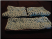 Seafoam Ear Warmer and Boot Cuffs - set
