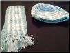 Wavy Hat And Scarf Set