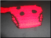 Lady Bug Diaper Cover