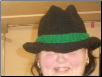 Black Hat Green Band